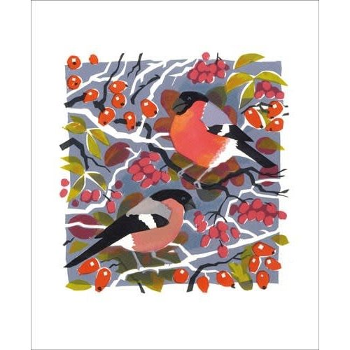 Art Angels Bullfinches by Carry Akroyd