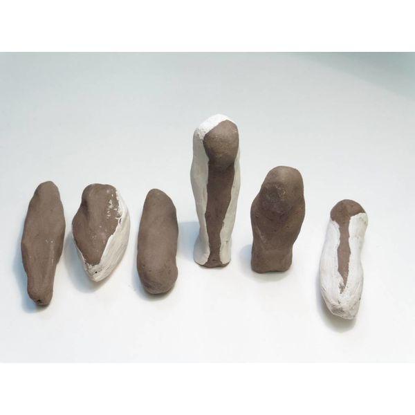 Flint women 1-6 stoneware set or singles 011