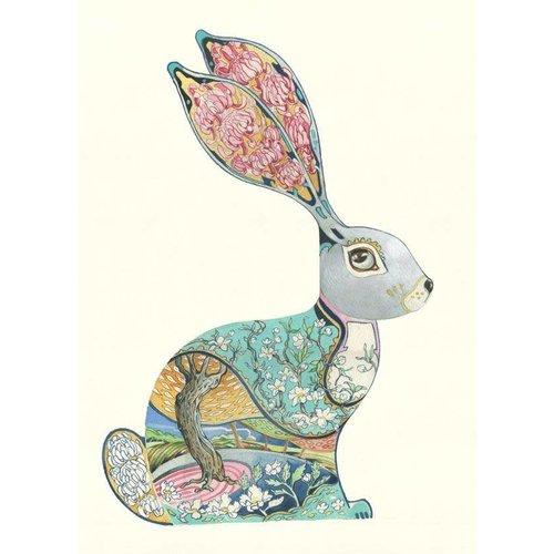Daniel Mackie Bunny card
