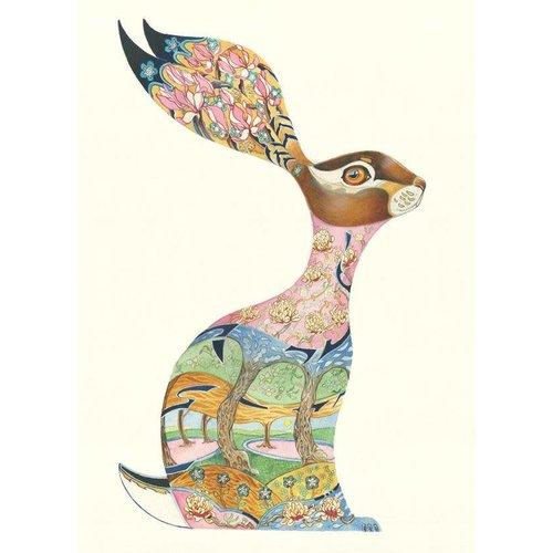 Daniel Mackie Pink Hare card