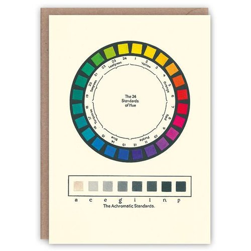 The Pattern Book Colour Standards pattern book card
