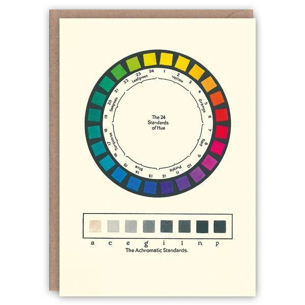 Tarjeta de libro de patrones de colores