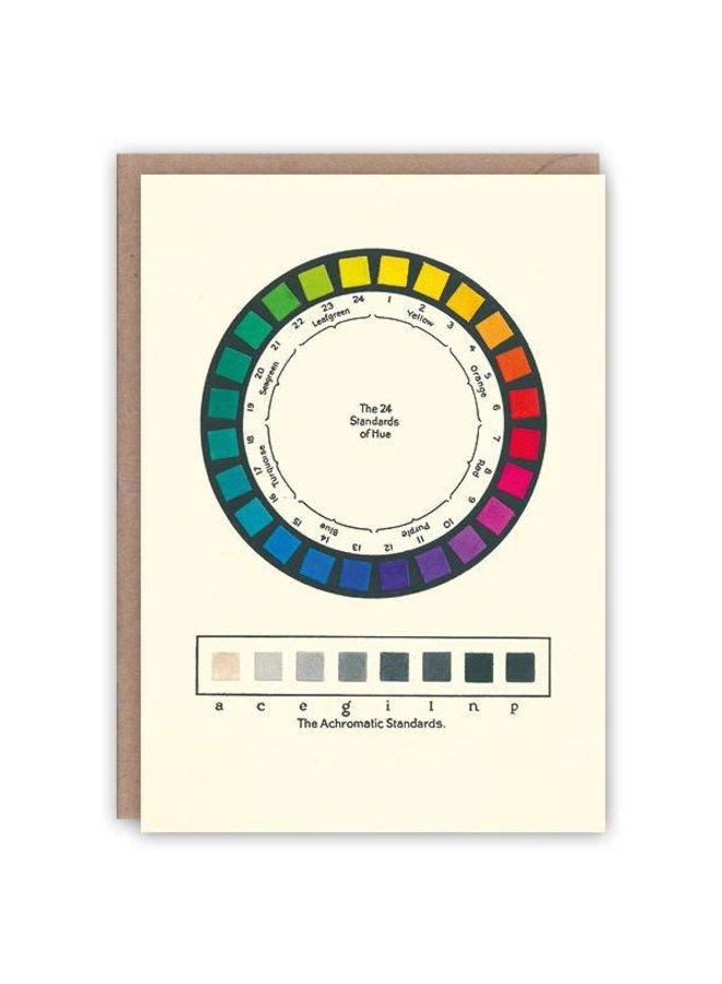 Farbnormale Musterbuchkarte