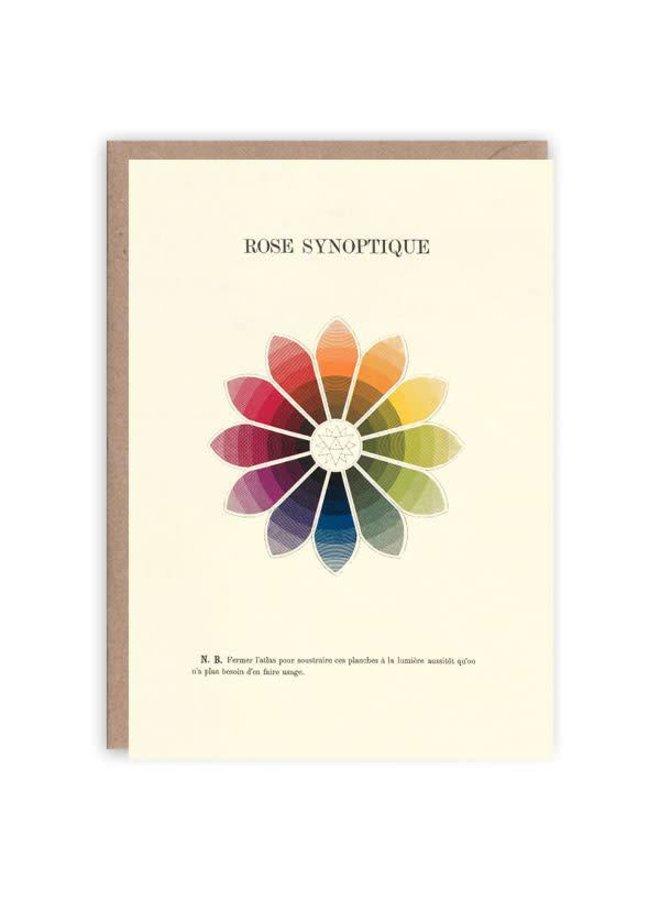 Rose synoptique Musterbuchkarte
