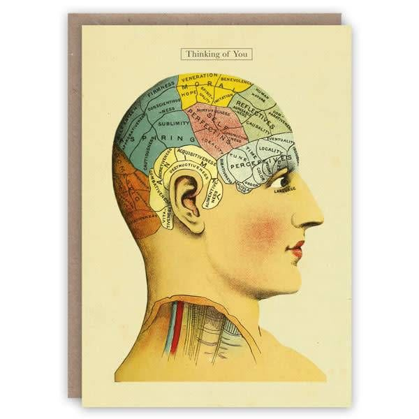 Pensando en ti tarjeta de libro de patrones