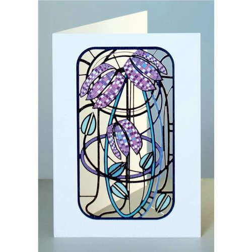Forever Cards Fritillary Laser cut card