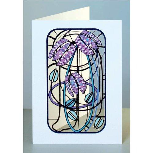 Forever Cards Fritillary Laser geschnittene Karte