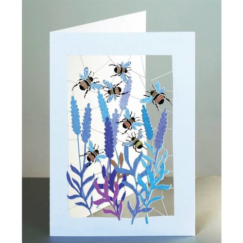 Forever Cards Tarjeta Laser Bumble Bees