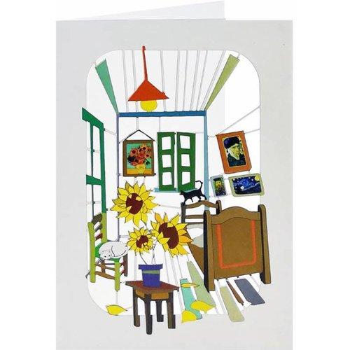 Forever Cards Artist room Laser cut card