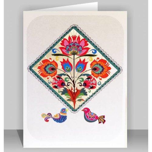 Forever Cards Flower Diamond Laser cut card