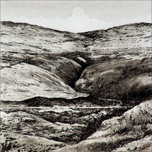 Ian Brooks Bond Clough - grabado 004 sin enmarcar
