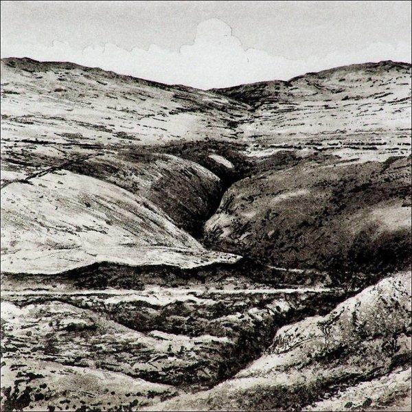 Bond Clough - etching  004 framed