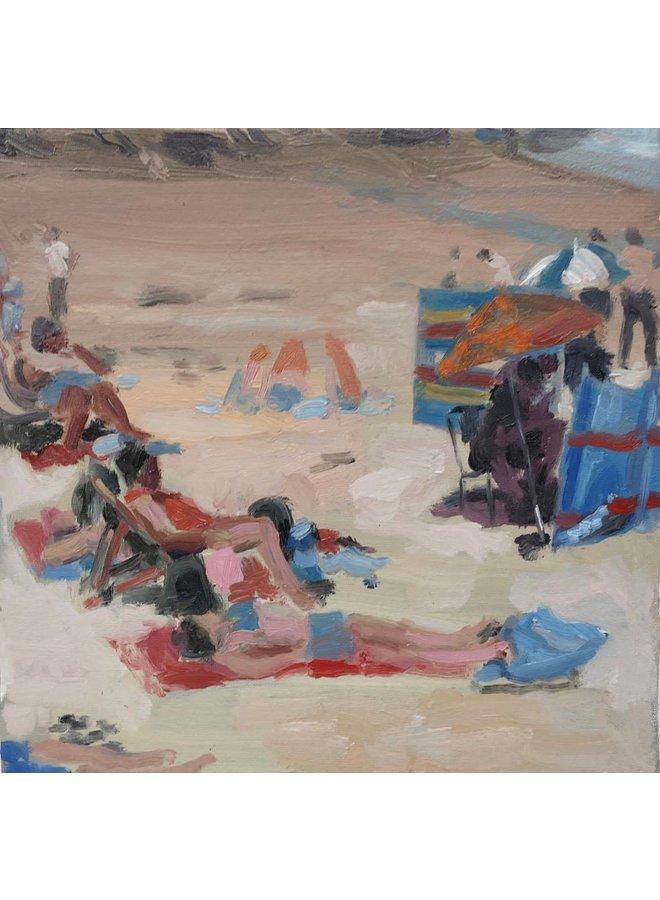 Beach Study oil on canvas 036