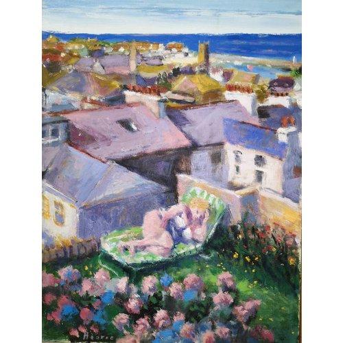 Martin Hearne Venus de St. Ives óleo sobre lienzo 037