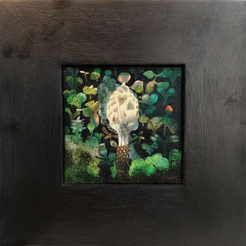 Sara Philpott Finial - oil framed 012