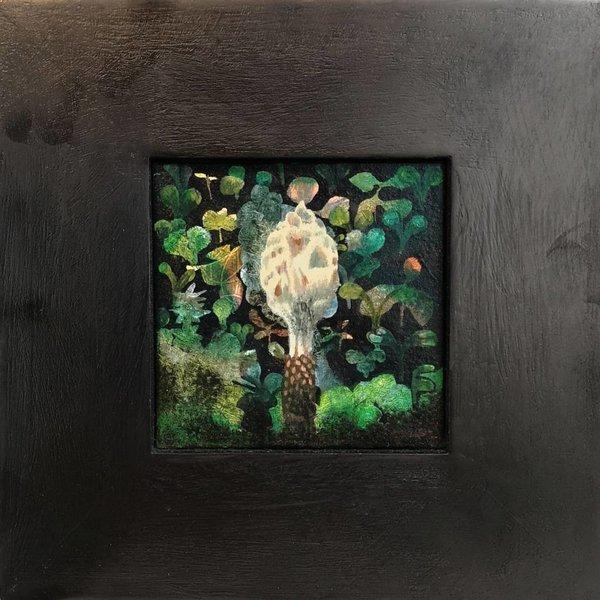 Finial - oil framed 012