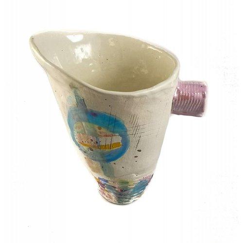 John Cook Ceramics Blaue Eimerlüster 001