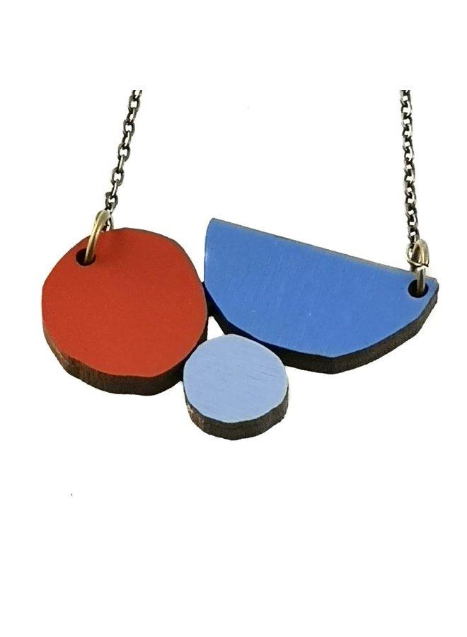 Zusammensetzung Abstrakte Halskette 004
