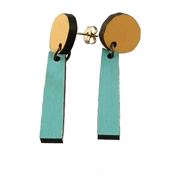 Forma Abstract stud Earrings 008