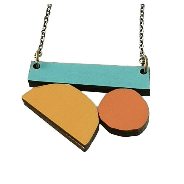 Tutti Frutti Abstract ketting 002