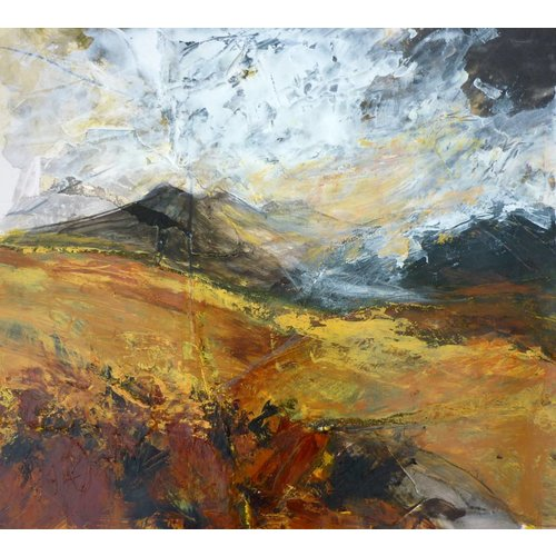 Liz Salter Turned Out Nice Again -  mixed media 039