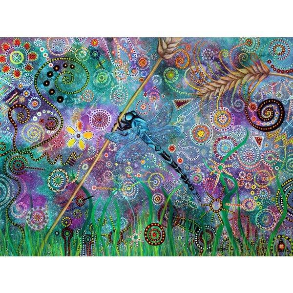 Libelle Dream Giclée-Druck 022