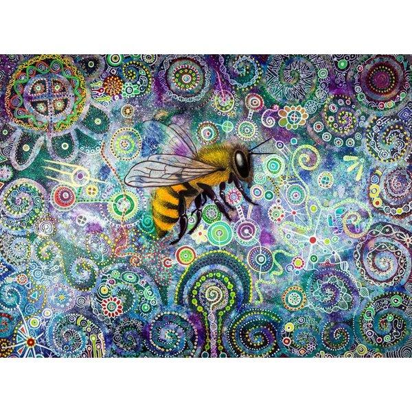 Shamanic Bee giclee print 019