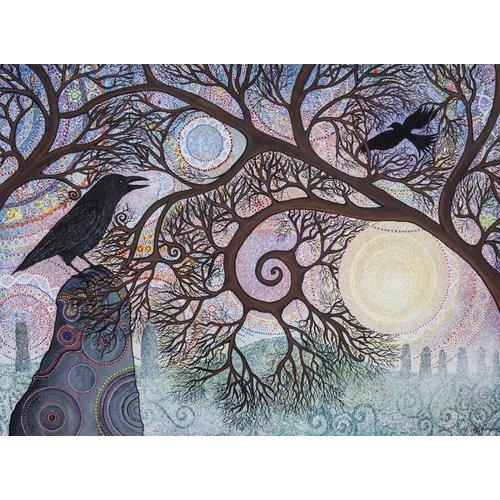 Peter Yankowski Piedras y cuervos giclee impresión 021