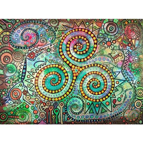 Peter Yankowski Triskele Dragon giclee print large 034