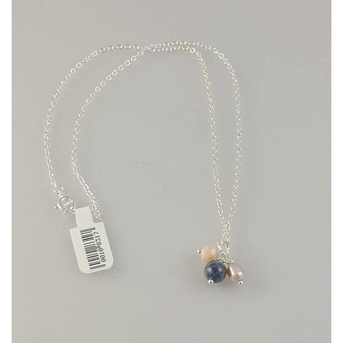 Ladies Who Lunch Collar de perlas de plata 3 063