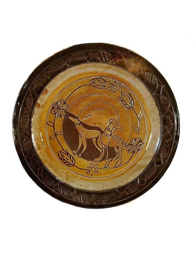 Windhund Slipware Plater 010