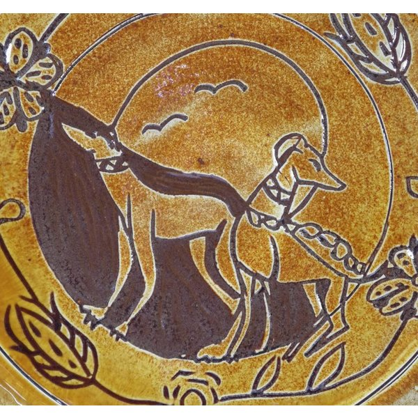 Greyhounds-Slipware-Plater 010