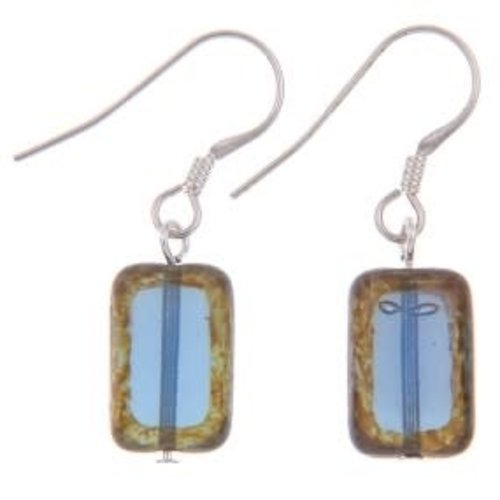 Carrie Elspeth Blue Picasso Earrings