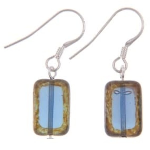 Blue Picasso Earrings