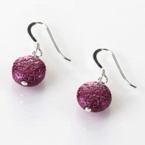 Carrie Elspeth Cranberry Moons Earrings