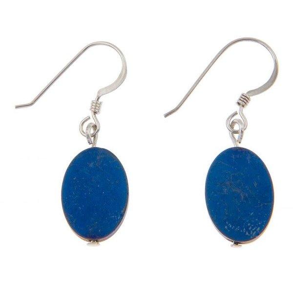 Cobalt Opus oval Earrings
