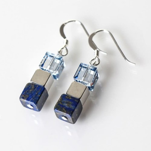 Carrie Elspeth Lapis Lazuli naturals Earrings