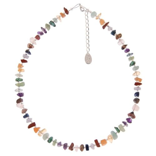Carrie Elspeth Semi-precious chips necklace