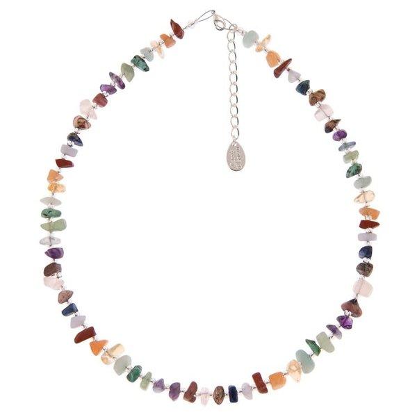 Semi-precious chips necklace