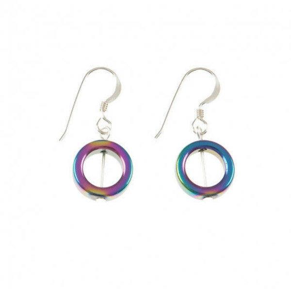 Spectrum Circle Earrings