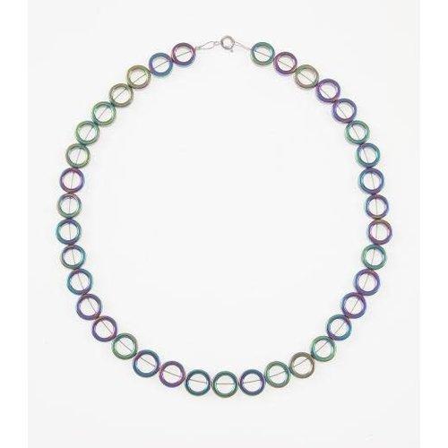 Carrie Elspeth Collar completo de círculos de espectro