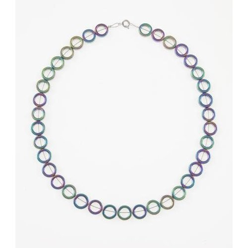 Carrie Elspeth Spectrum circles full necklace
