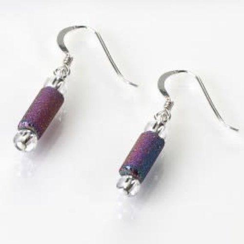 Carrie Elspeth Spectrum lava tube Earrings