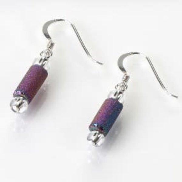 Spectrum lava tube Earrings