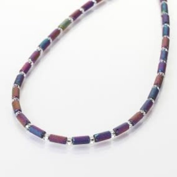 Spectrum lava tube full necklace