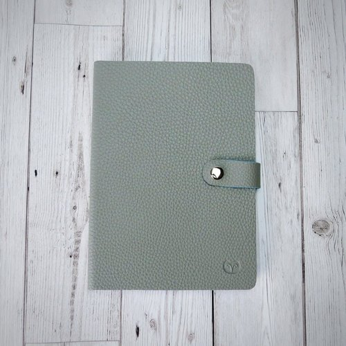 goodeehoo Nicobar Vegan Mushroom  Notebook with clasp lined paper 001