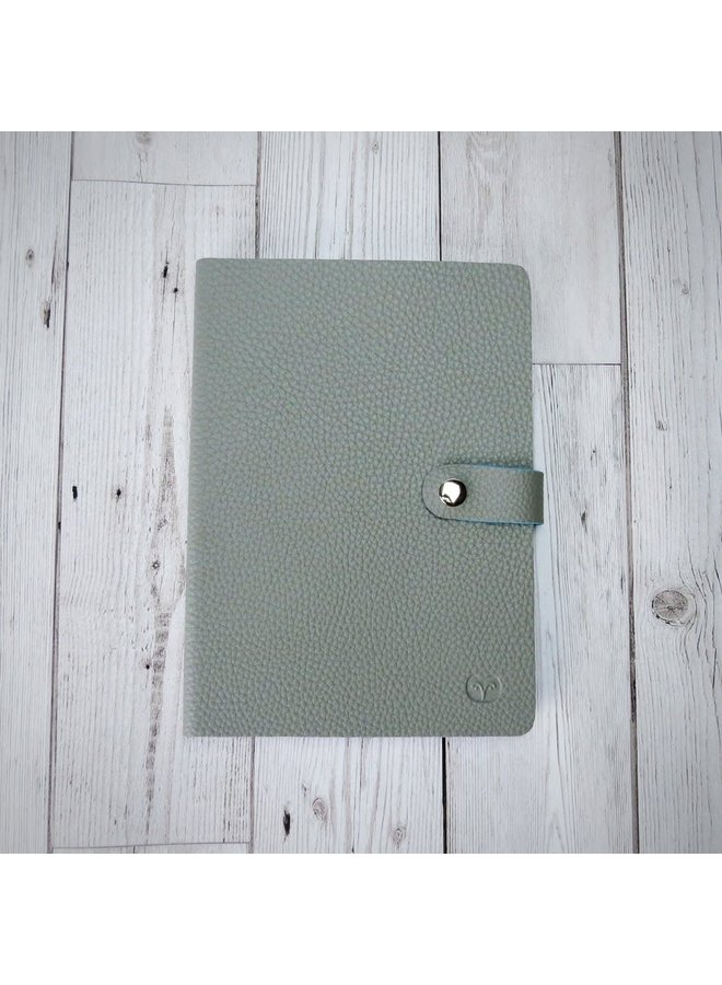 Nicobar Vegan Mushroom  Notebook with clasp lined paper 001