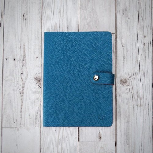 goodeehoo Nicobar Vegan Teal Notebook with clasp lined paper 002