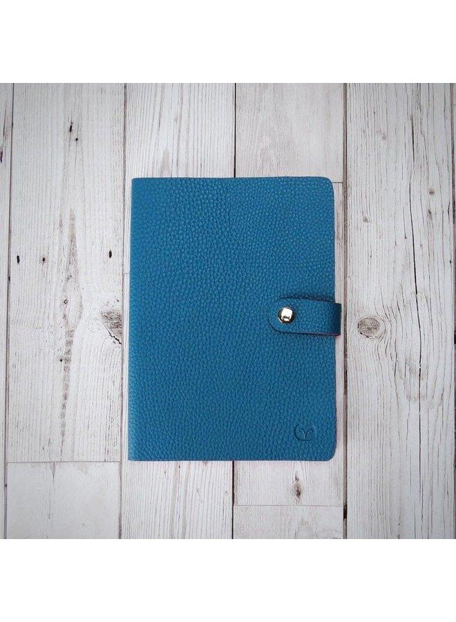 Nicobar Vegan Teal Notebook mit Schließe Papier 002