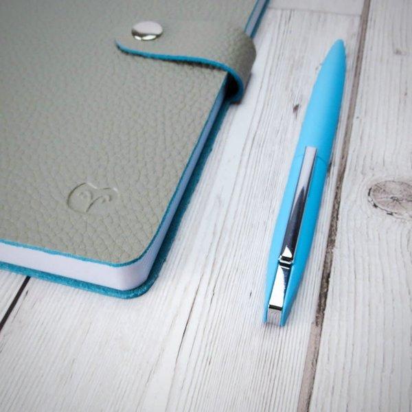 Twist Action Kugelschreiber blau in Geschenkbox 017